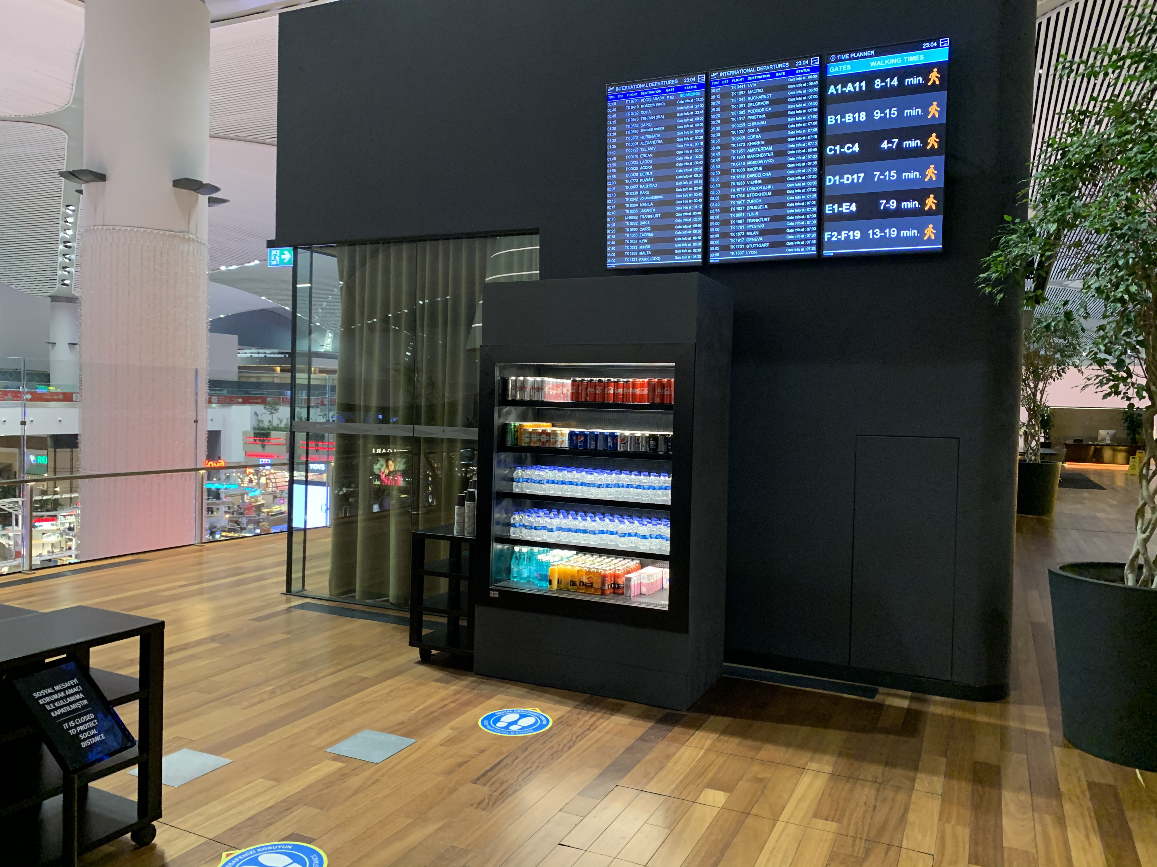 Turkish Airlines Miles And Smiles Lounge Review (New Istanbul Airport) – Current Business Class lounge is closed